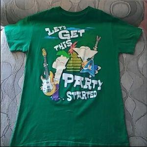 Disney Phienes and Ferb short sleeves TShirt